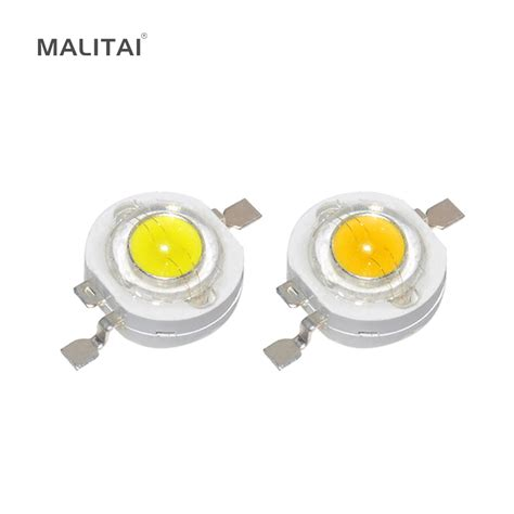 3w led diodes aliexpress buy 10pcs real 3w watt high power led l 220 240lm cree smd chip leds