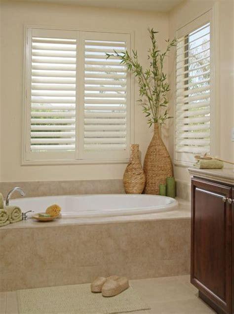 Shutter Blinds For Windows Decor 17 Best Ideas About Master Bathroom Tub On Pinterest Restroom Ideas Bathroom And