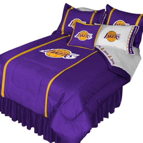 La Lakers Bedding Sets Nba Los Angeles Lakers Bedding Set Basketball Bed Contemporary Bedding By Obedding