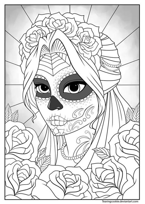 anatomy coloring book skull sugar skull coloring pages coloring home