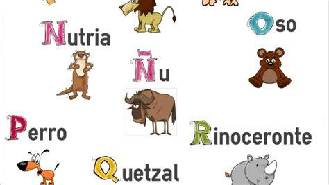 imagenes de animales por abecedario imagenes de animales con el abecedario imagui