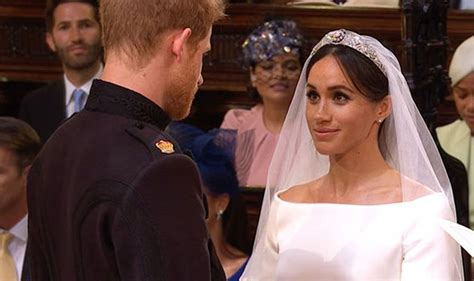 Royal Wedding William Kate Exchange Vows by Royal Wedding Vows Live Moving Moment Meghan Markle And