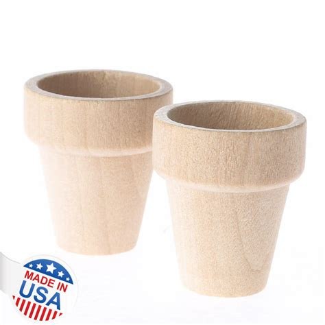 small flower pot small unfinished wood flower pots wood flower pots unfinished wood craft supplies