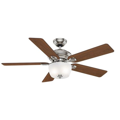 casablanca outdoor ceiling fans casablanca utopian 52 in indoor brushed nickel ceiling