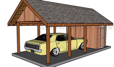 carport with storage plans carport with storage plans howtospecialist how to