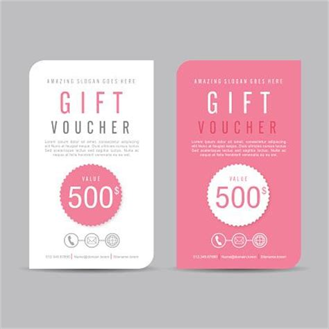 template for coupons the size of gift cards best 25 gift voucher design ideas on coupon