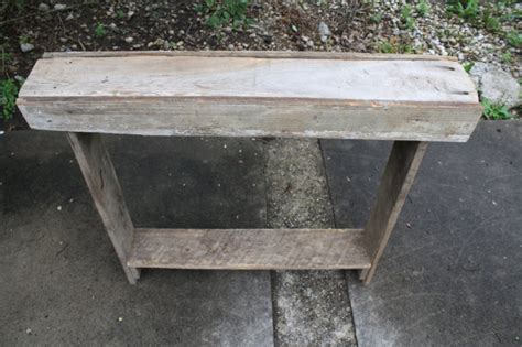 Primitive Table Ls by Early Century Reclaimed Salvaged Barn Wood Made Rustic