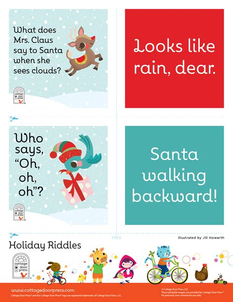 printable christmas riddles christmas riddles stories from the cottage