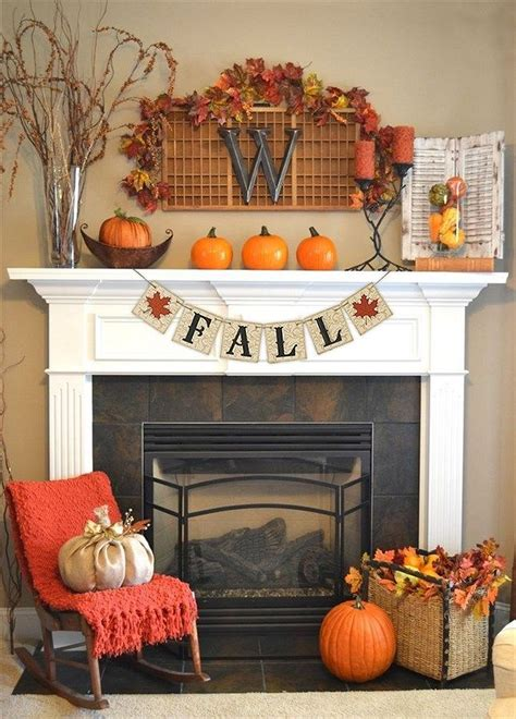 20 fall home decor for mantel ideas 27 pinarchitecture