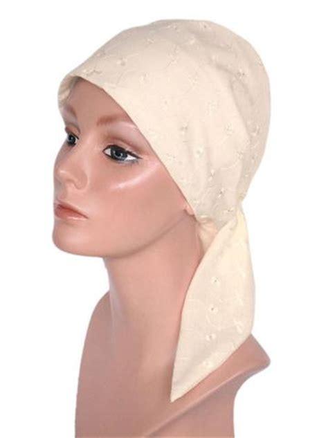 eyelet cotton scarf turban plus wholesale