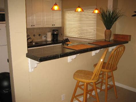 Bar In Kitchen Ideas Small Kitchen Bar Designs
