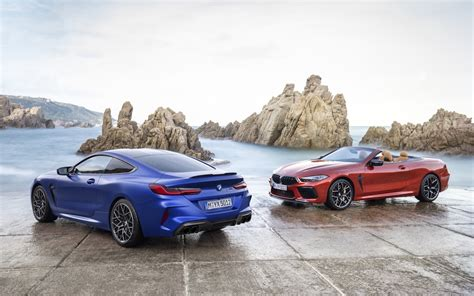bmw  revealed coupe convertible  competition