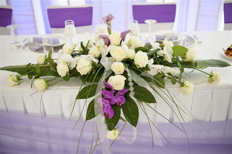 Hochzeitsdekoration Blumen by Ok Brauttisch