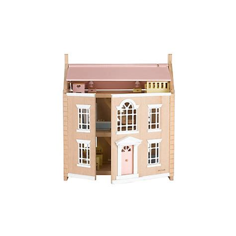 buy dolls house buy john lewis leckford house wooden doll s house john lewis