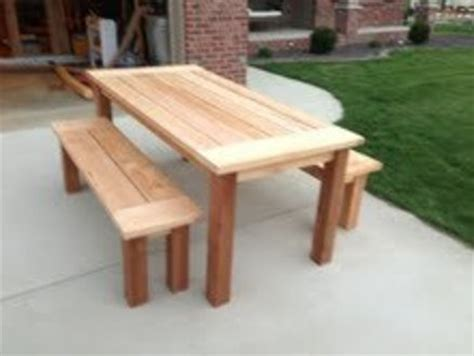 cedar patio table by brandonr lumberjocks