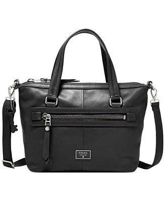 Fossil Dawson Satchel 3323 1 fossil dawson leather satchel handbags accessories