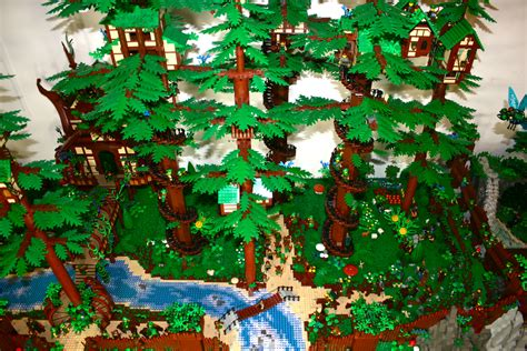 Amazing LEGO MOC  LEGO Fairy Forest   Brick Archives   A