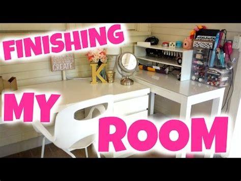 my new room 6 finishing my new room