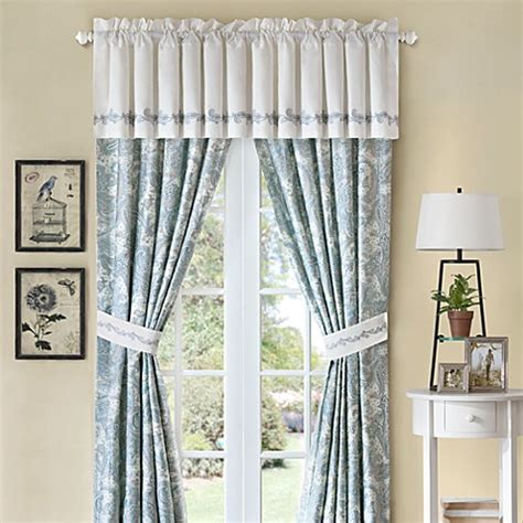 bed bath and beyond chelsea harbor house chelsea paisley window valance bed bath