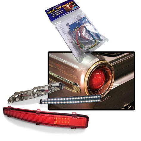 universal led tail lights keep it clean wiring 12580 accessories universal led tail