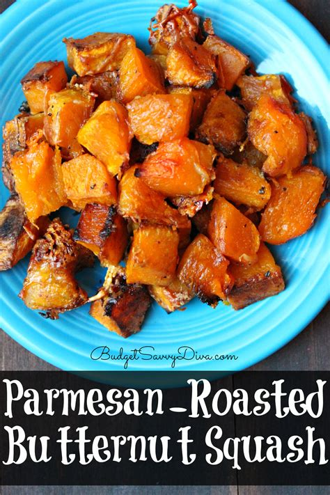 parmesan roasted healthy butternut squash recipes