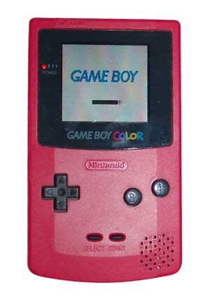gameboy color ebay nintendo boy color berry handheld system ebay