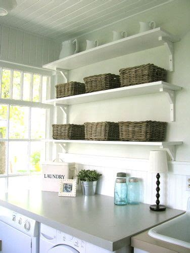 Laundry Room With Ikea Shelves Laundry Room Pinterest Laundry With Shelves