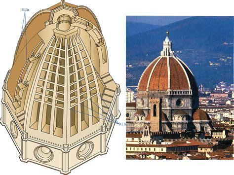 cupola brunelleschi firenze florence cathedral plan da ara renaissance