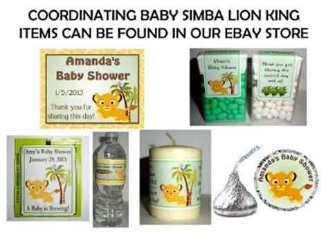 king baby shower favor ideas 14 baby simba king baby shower favors tic tac labels