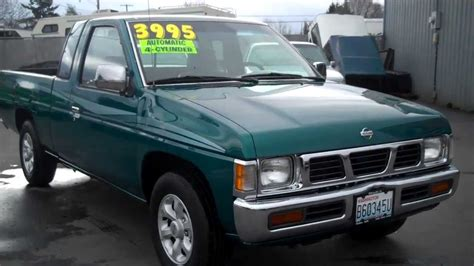 nissan pickup 1996 1996 nissan truck sold youtube