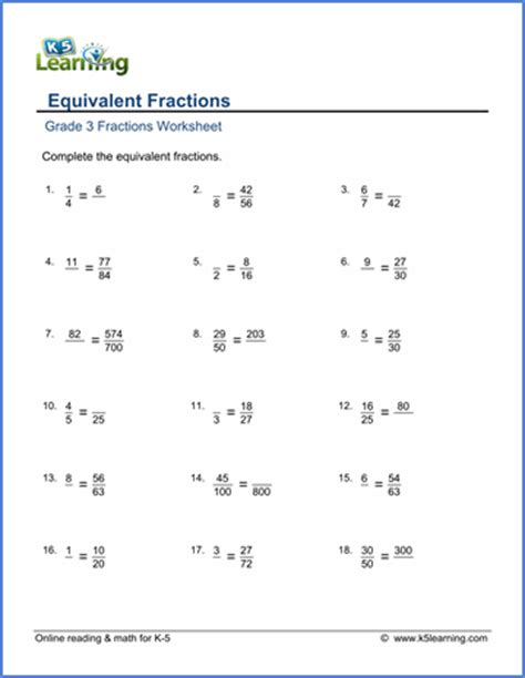 Fractions Worksheets Grade 3 by Grade 3 Fractions And Decimals Worksheets Free