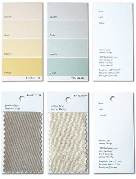 fabric swatch card template clever paint chip and fabric sle business cards for an