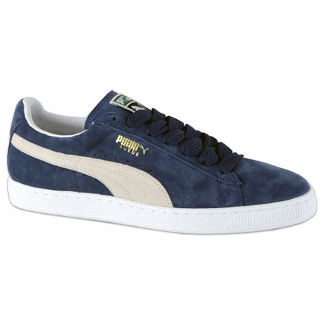 blue and sneakers suede classic sneakers blue white sportus