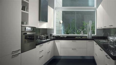 cuisine blanche carrelage gris cuisine blanche et inox id 233 es et astuces en 90 photos