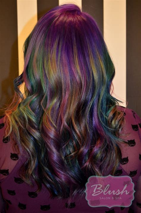 1000 ideas about different hair colors on pinterest 1000 ideas about oil slick hair on pinterest slicked