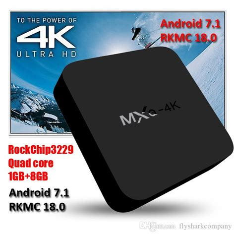Mxq 4k Rk3229 Smart Tv Box Android android 7 1 tv box mxq 4k rk3229 smart tv box kd fully