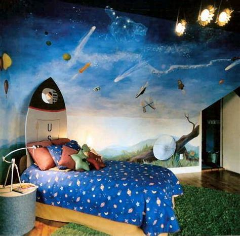 best tips you can use for creating space themed bedrooms