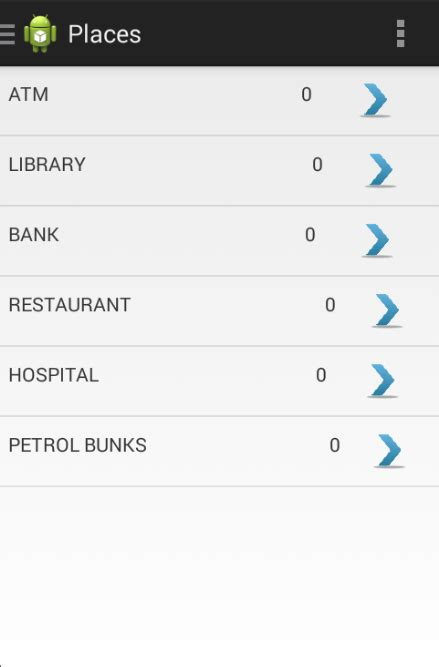 Android Nearby Places Api by Android Nearby Places Api To Display Places Types