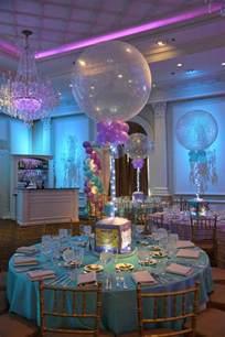 theme centerpieces photo cube centerpieces balloon artistry