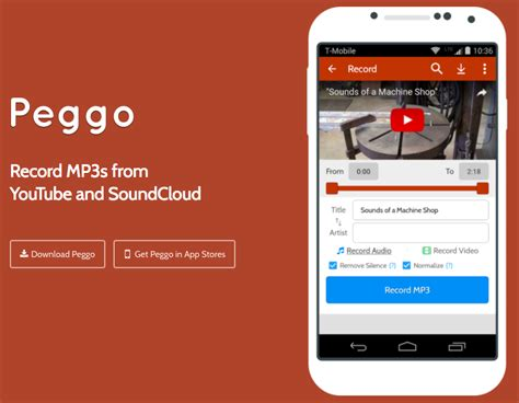 download mp3 from youtube app for android peggo app download youtube to mp3 converter android