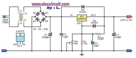 Adaptor 8 Volt 3 Ere schematic diagram of a dc variable power supply 0 12 volts
