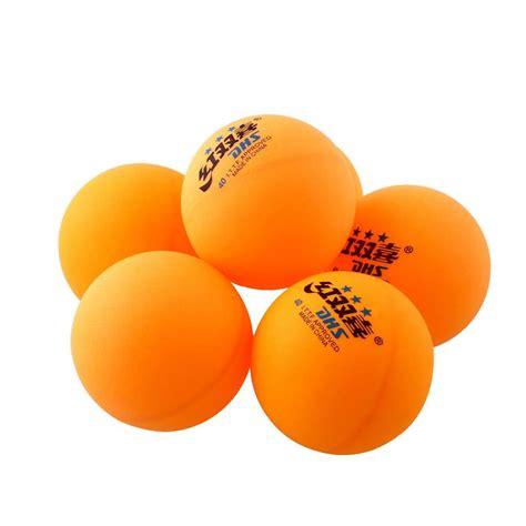 Bola Pingpong Tenis Meja Dhs Orange Isi 6 aukey 3 bintang dhs 40 mm olimpiade tenis meja bola kuning lazada indonesia