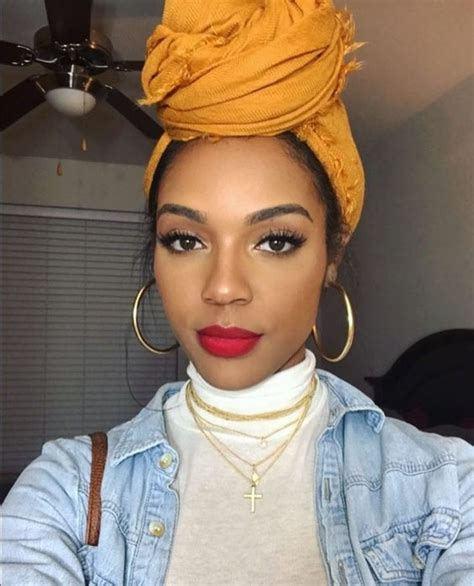 pinterest black woman with headscarf kicking it old school 30 fly 90s hairstyles we love