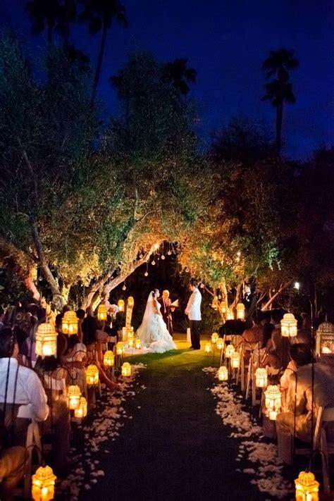 25  best ideas about Outdoor evening weddings on Pinterest