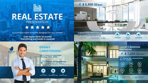 real estate agency  mix motion videohive