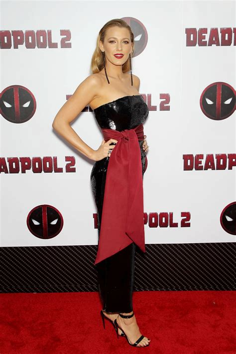 deadpool 2 carpet premiere lively deadpool 2 premiere in new york city