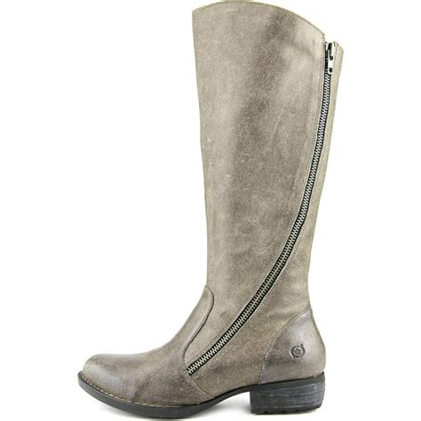 Table Linens Wedding Reception - born iona women leather gray knee high boot boots