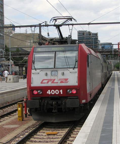 Lu Cfl chemins de fer luxembourgeois