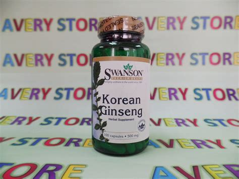 Dijamin Nature S Health Korean Ginseng 500mg 100 Capsules swanson korean ginseng 500 mg 100 caps avery store philippines