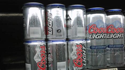 sugar in coors light how many grams of sugar are in a can of coors light